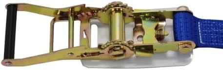 フリーク ラチェット式ラッシングベルト Fフック4.5ton 幅50mm×長さ1+7m