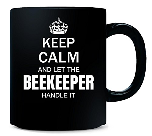 Keep Calm Beekeeper Mug-beekeeper gifts