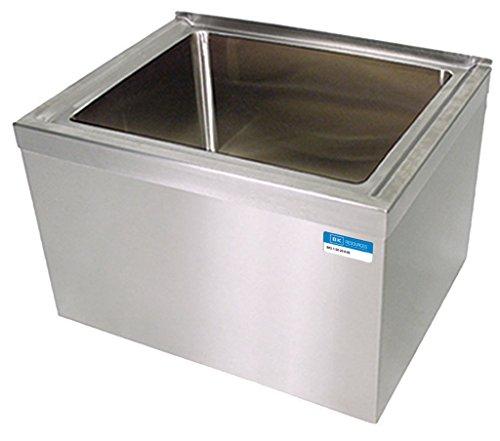 BK Resources BKMS-1620-6 Stainless Steel Floor Mount Mop Sink 20