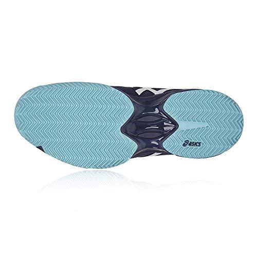 donna Asics 3 Navy Scarpe Speed Clay Blu solution Gel da HHaxOA