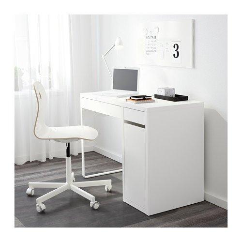 Ikea Mikael Scrivania.Ikea 802 130 74 Micke Desk White Buy Online In Uae