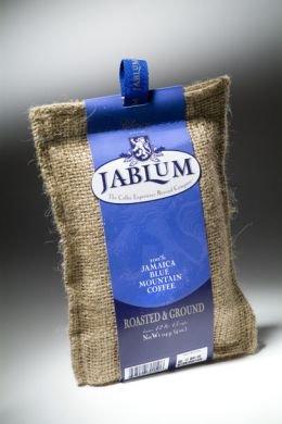Jablum Jamaica Blue Mountain Coffee, Ground (1-4 oz bag)