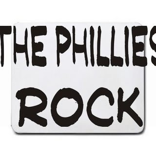 The Phillies Rock Mousepad [Office Product] (Philly Rocks)