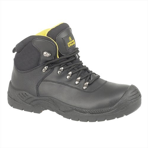 Amblers Steel FS220 Waterproof Safety Mens Work Boots - Black - Size UK 10 by Amblers Steel