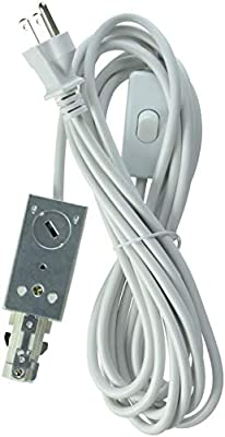 Lithonia Lighting LTLECS M6 Linear White Track Lighting Live-End Power Feed