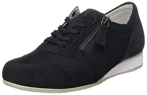 Comfort Nightblue Zapatos Cordones para Basic Gabor Azul Mujer Derby de Shoes Sxwn1