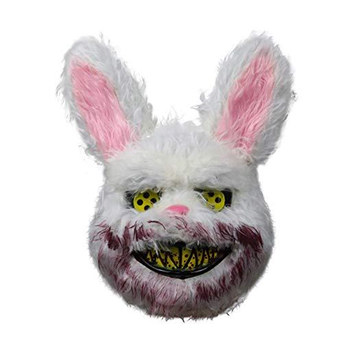 KDDD Halloween Mask Rabbit Halloween Horror Animal Fancy