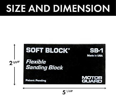 Motor Guard SB-1 Soft Block Flexible Sanding Block