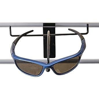 69594fea91ac Only Garment Racks Slatwall Sunglass - Eyewear Display - Black (Pack of  10): Amazon.com: Industrial & Scientific