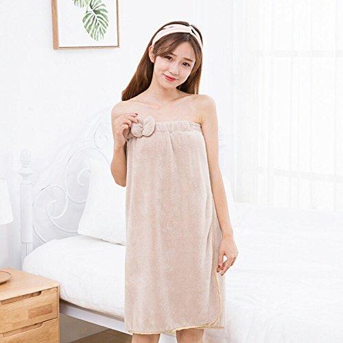 Amazon.com: WDDH Womens Spa Bath Cloth Towel Wrap Bath Wrap Terry for Bathroom 27x 55: Home & Kitchen