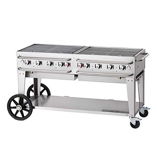 Crown Verity RCB-60-SI-LP - Parrilla de gas para exteriores con ...