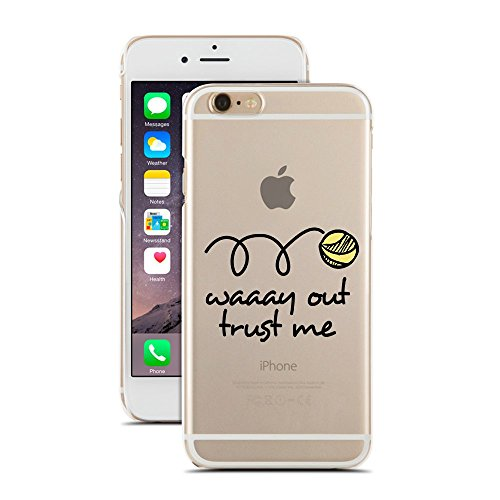 Waaay Out Trust Me - Tennis Man - for iPhone 7/7S - Super Slim Case (Tennis Cases For Iphone 5c)