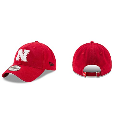 - Nebraska Cornhuskers Campus Classic Adjustable Hat - Red , One Size