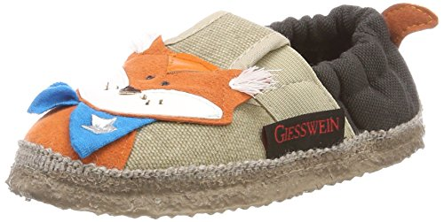 Giesswein Afing, Zapatillas de estar Por Casa Para Niños Beige (Sesam)