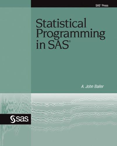 Download Statistical Programming in SAS Pdf
