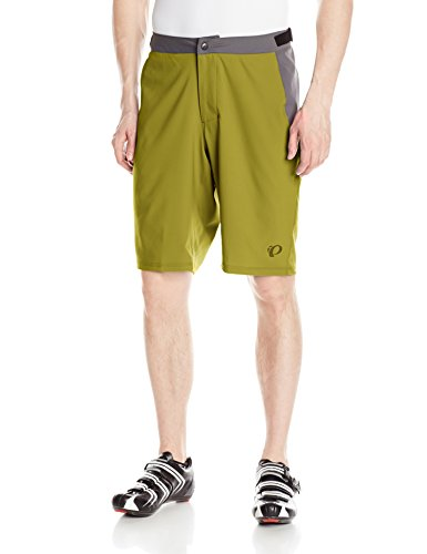 Ecru Olive - Pearl Izumi - Ride Men's Canyon Shorts, Ecru Olive, Medium