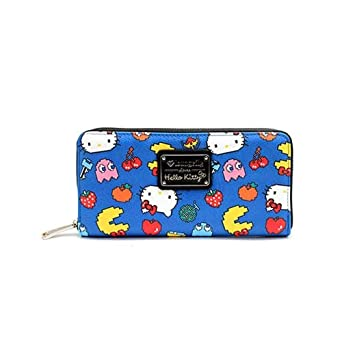 480360a8e Image Unavailable. Image not available for. Color: Loungefly x Hello Kitty  Pac Man Zip Around Wallet
