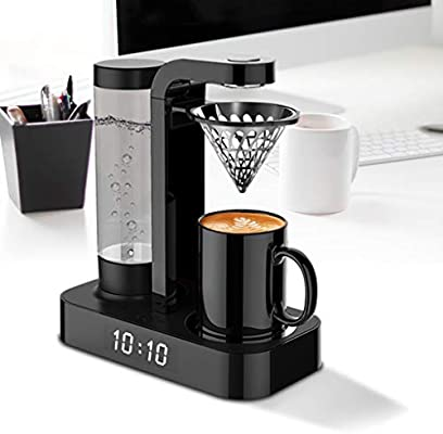 TWDYC Cafetera Reloj doméstico automático por Goteo Oficina de la Mini Cafetera Todo-en-uno de la máquina: Amazon.es: Hogar