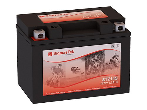 12 Volt 11.2 Amp Hour Sealed Lead Acid Battery Replacement with NB Terminals by SigmasTek STZ14S