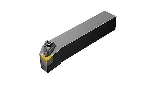 Round Shank Sandvik Coromant E12Q-SCLCL 06-R Turning Insert Holder CCMT 2 180mm Length x 9mm Width Internal Solid Carbide 1.5 Left Hand 1 Insert Size Screw Clamp 12mm Shank Diameter