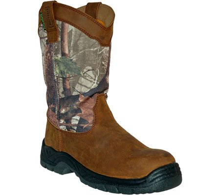 Itasca Men's Python Camo Waterproof Wellington Boot,Brown/Real Tree Camouflage F