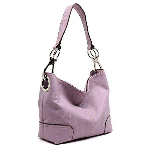 Purple Hobo Handbag - 3