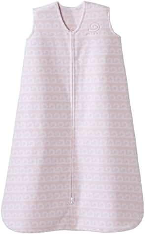 Halo SleepSack Micro-Fleece Wearable Blanket, Coral Wave, Large