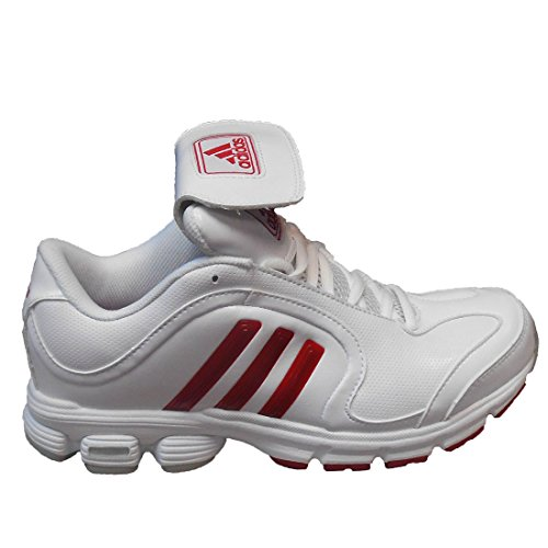 adidas Women's SM Excelsior 6 Training Running Shoes (7, Running White/Unired/Metallic Silver)