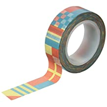 October Afternoon Nautical Flags Treasure Map Washi Tape, 15mm/10 yd