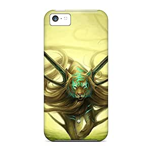 ChrisHuisman Iphone 5c Hybrid Cases Covers Bumper Real Fantasy