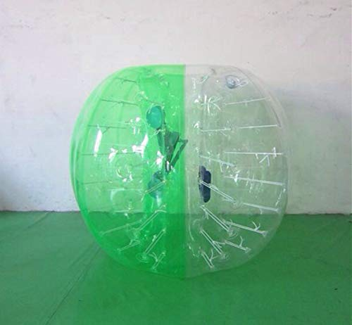 XuBa 1.7m%100TPU for Adult Inflatable Bumper Ball Zorb Ball Bubble Football Bubble Soccer Ball Loopy Ball for Football