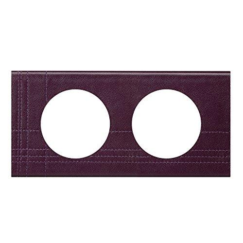 Legrand LEG69423 C/éliane2 Plaque avec 3 postes Cuir Caramel