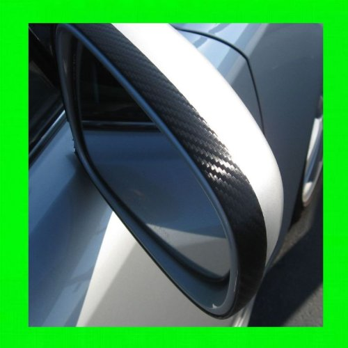 E60 Carbon (2004-2007 BMW E60 525I 525 I CARBON FIBER MIRROR TRIM MOLDINGS 2PC 2005 2006 04 05 06 07)