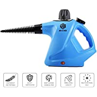 Micho 2018 Newest Handheld Steam Cleaner 450ML, Multi-Purpose Pressurized Steamer for Stain Removal, Carpets, Curtains, Car Seats, Kitchen, Surfaces & More, High Pressure Chemical-Free Sanitizer
