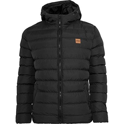 Urban Classics Basic Bubble Winter Jacket Black - 3XL - Mens Urban Outerwear Nylon Jacket