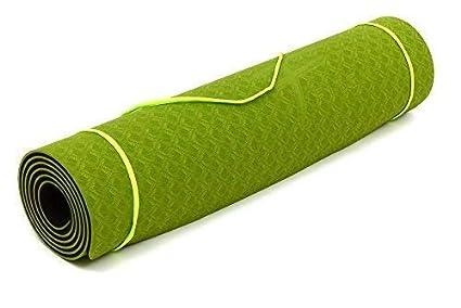 Fitem – Esterilla de gimnasia y yoga de TPE – Eco Natura – Reversible, antideslizante