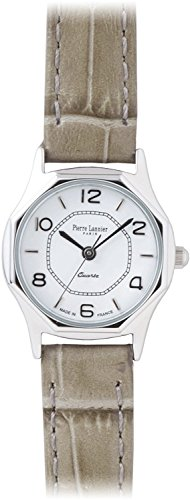 PIERRE LANNIER press watch octagonal Watch Silver / Croco gray P043604 C30 Ladies
