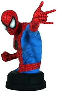 Gentle Giant Spider-Man Mini Bust, Red/Blue