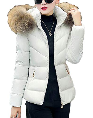 Used, WSPLYSPJY Women Winter Faux Fur Hoodie Coat Parka Down for sale  Delivered anywhere in USA