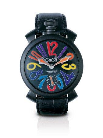 GAGA MILANO(ガガミラノ) 5012.3 MANUALE 48MM 腕時計 レザーベルト【並行輸入品】  B007PNOC04