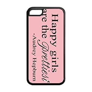 5C Phone Cases, Wisdom Hard TPU Rubber Cover Case for iPhone 5C