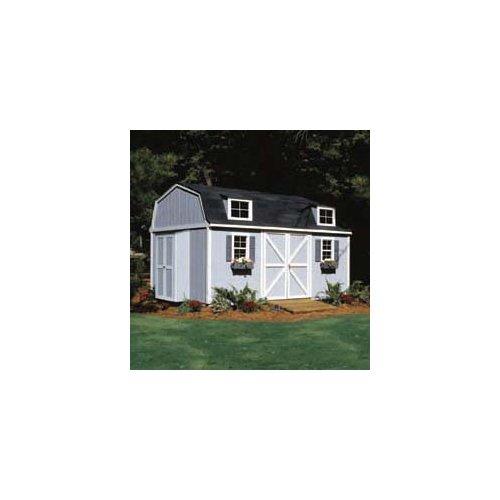 16' Storage Building Kit (Handy Home Products Premier Series - Berkley 10' x 16' Storage Building With Floor Kit - BMC-HHS 18515-1)