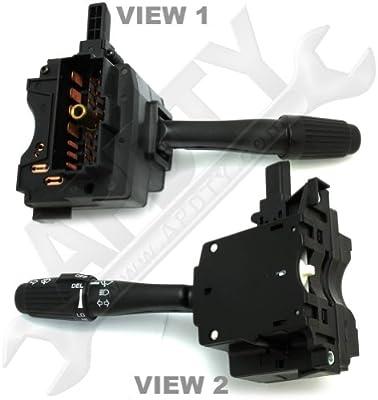 apdty 4728424 Interruptor multifunción incluye Turn Signal/Limpiaparabrisas/Arandela/Hazard/high-beam Switch/Palanca para 1993 - 1998 Jeep Grand ...