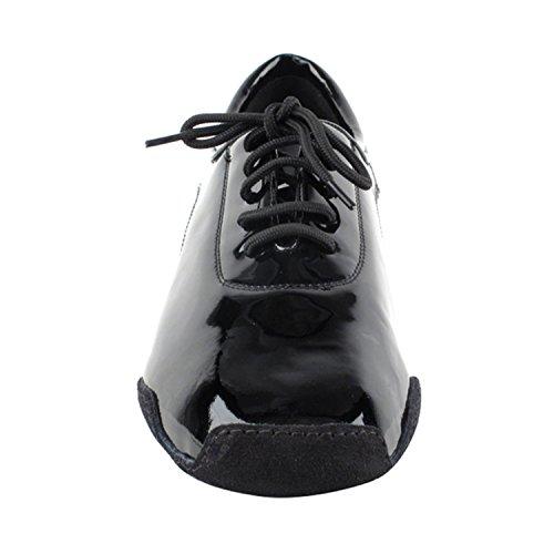 50 Shades Of Hombres Latin 1.5 Colección De Zapatos De Vestir De Tacón Alto (ancho Ancho Disponible): Comfort Ballroom, Latin, Salsa, Theather Art By Party Party Cd9320 Black Patent