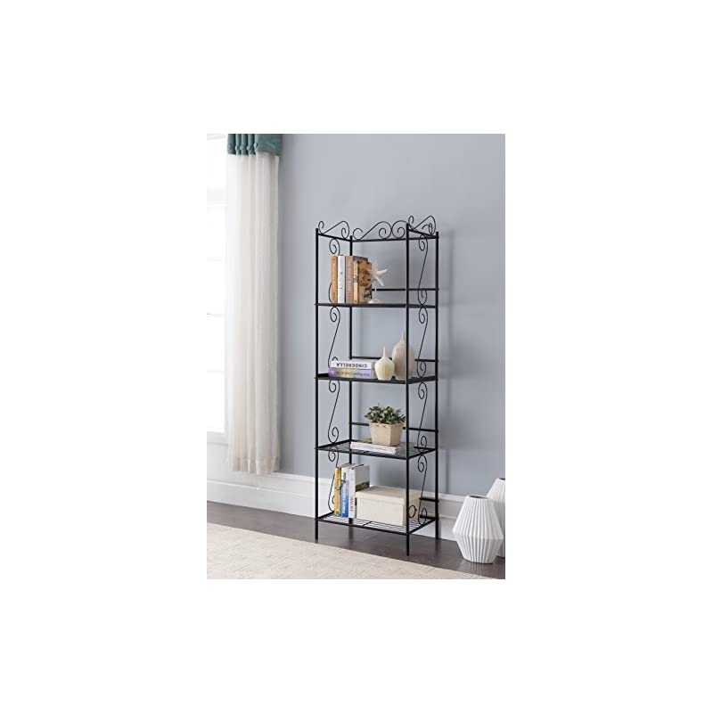black-metal-4-tier-free-standing