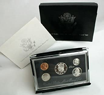 Mint Issued Silver Black Box Proof Set ~ Mint 1994 U.S
