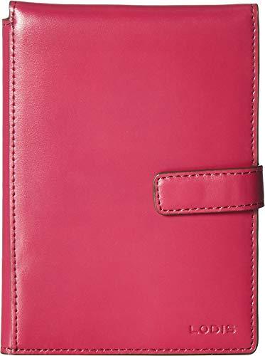 Lodis Accessories Women's Audrey Passport Wallet w/Ticket Flap Berry/Avocado One -