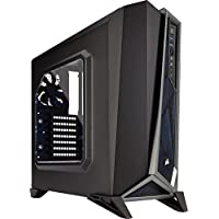 Corsair Carbide Series ATX Mid Tower Gaming Computer Case Chassis and USB 3.0 (Black)