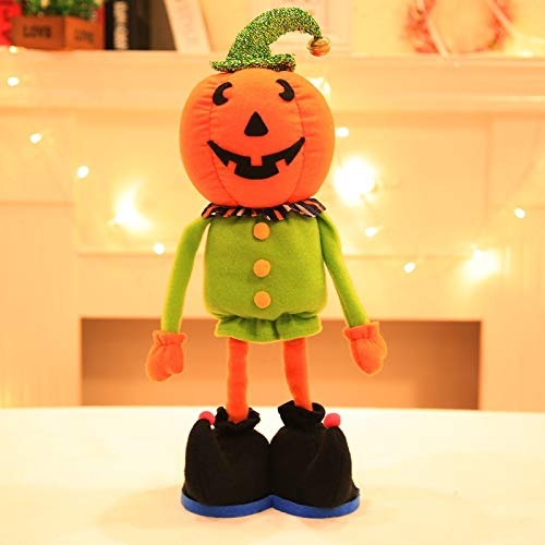 Wall of Dragon Halloween Decorations Dolls Ornaments Pumpkins Witches Black Hats Home Decor Toys ()
