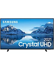 "Samsung Smart TV 50"" Crystal UHD 4K 50AU8000, Painel Dynamic Crystal Color, Design slim, Tela sem limites, Visual Livre de Cabos, Alexa built in, Controle Único"